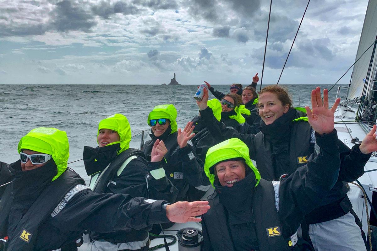 Tutima segelt Fastnet Race