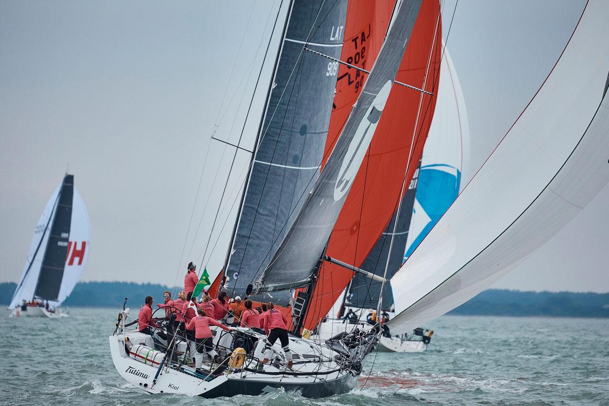 Tutima sails Fastnet Race
