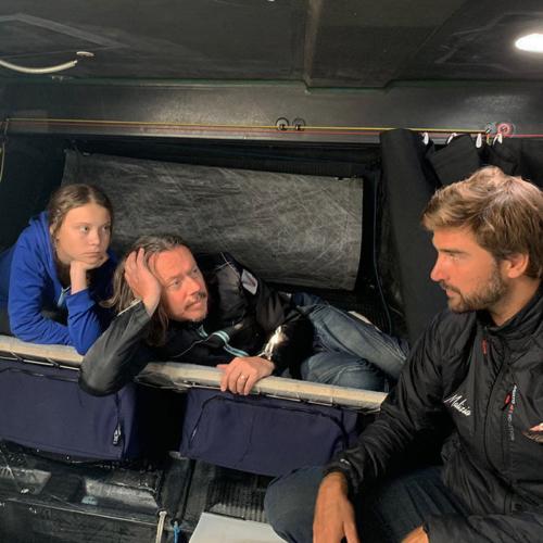 Greta Thunberg segelt mit Boris Herrmann über den Atlantik