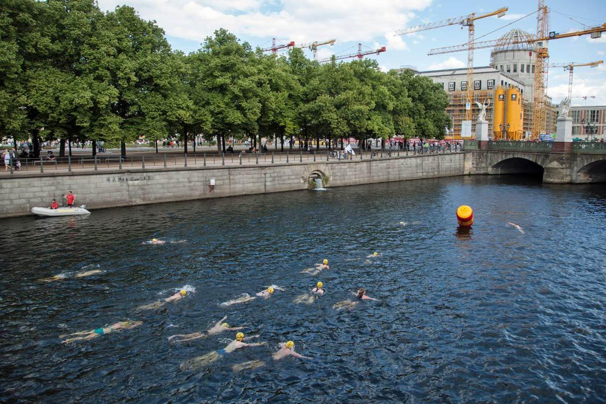 Flussbad Berlin Pokal