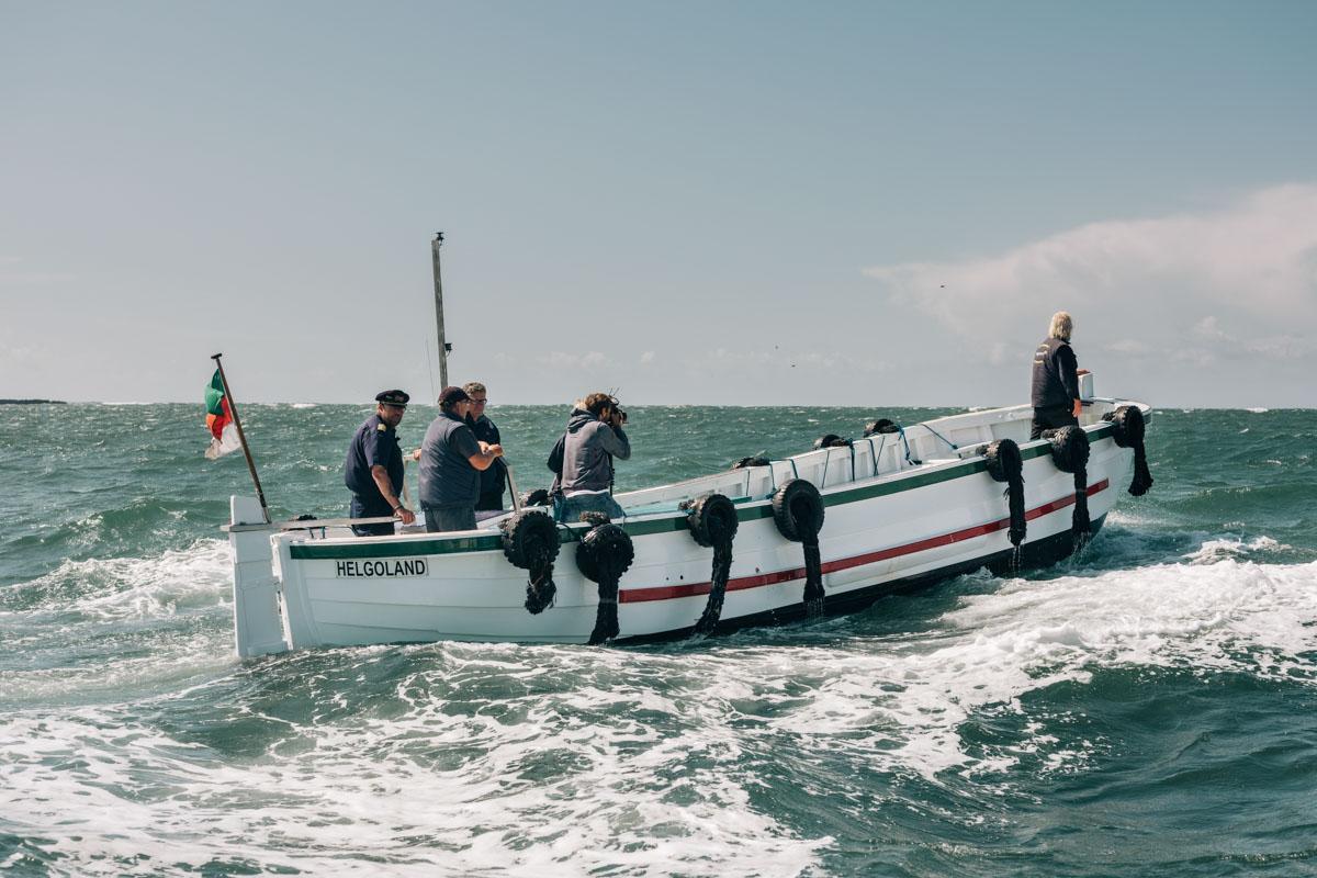 Helgoländer Börteboote jetzt mit Elektroantrieb von Torqeedo