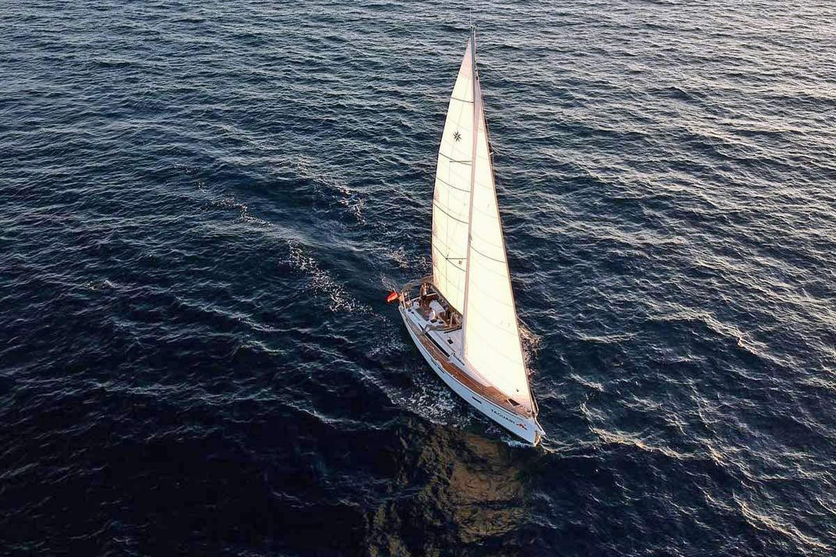 Betriebsausflug Sun Odyssey 519 Uzun