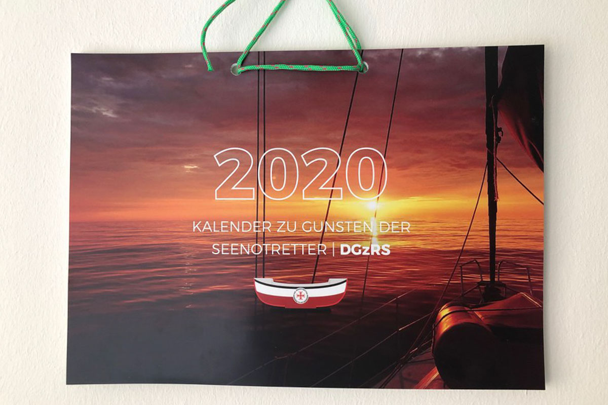 Segelkalender 2020 DGzRS
