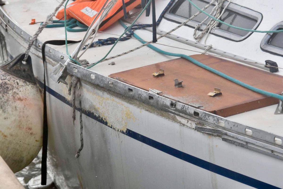 Menschenschmuggel auf Yachten