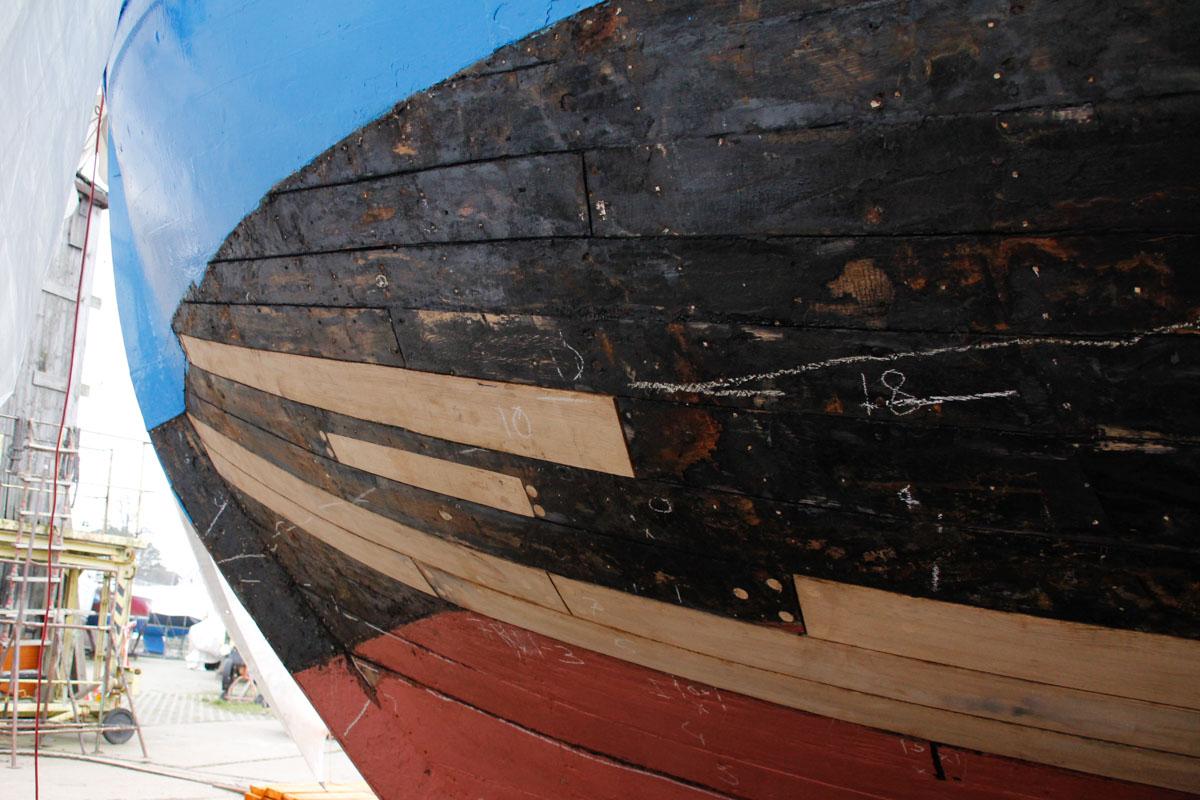 Bootswerft Freest in Vorpommern