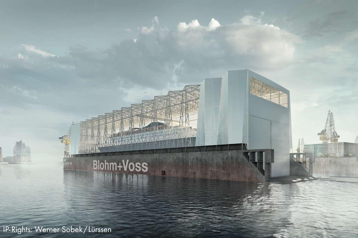 Dock 10 Blohm+Voss Werner Sobek