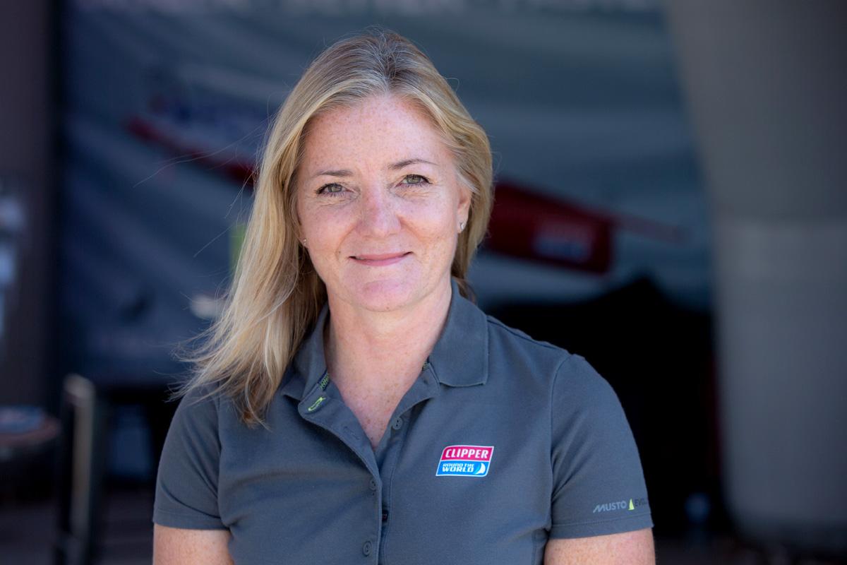 Clipper Round the World Race Della Parson