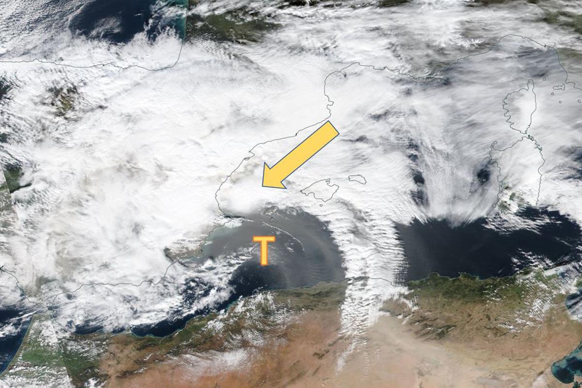 Mittelmeertief von Costa Blanca bis zu den Balearen