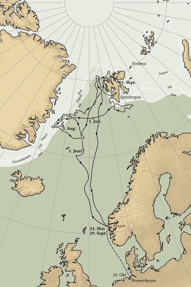 Polarforschungsschiff Grönland DSM