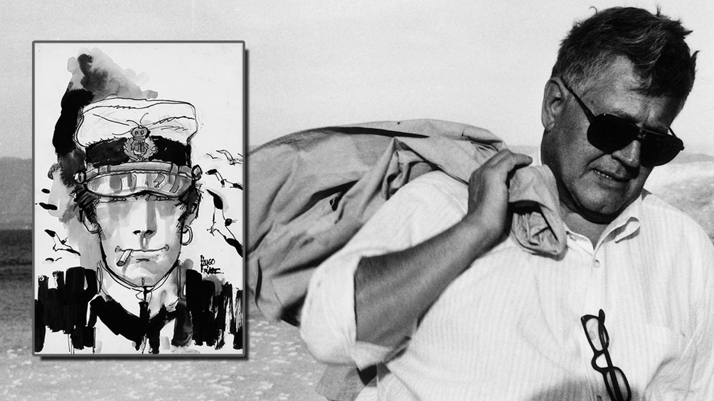 Hugo Pratt und sein populärster Held Corto Maltese © Cong SA Switzerland