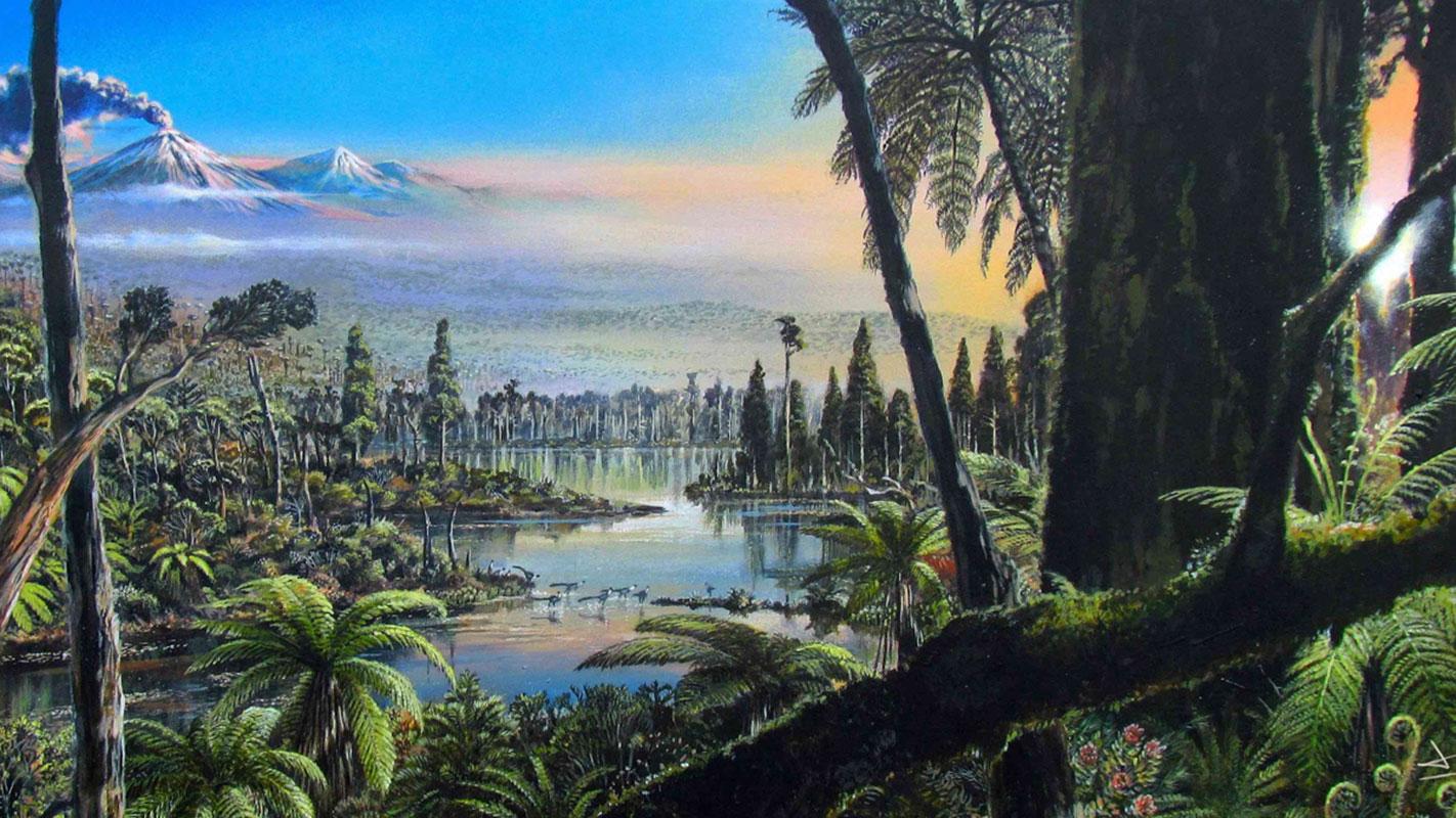 Westantarktis vor 90 Mio Jahren