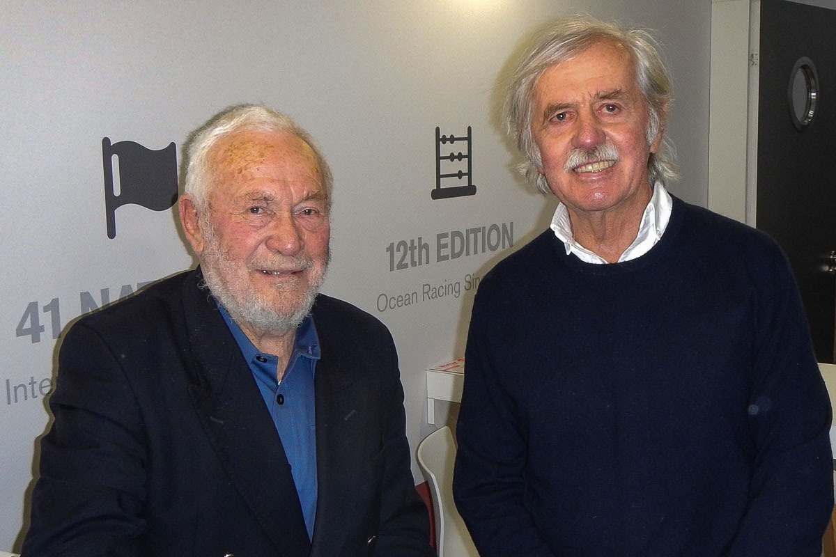 Wilfried Erdmann und Sir Robin Knox-Johnston