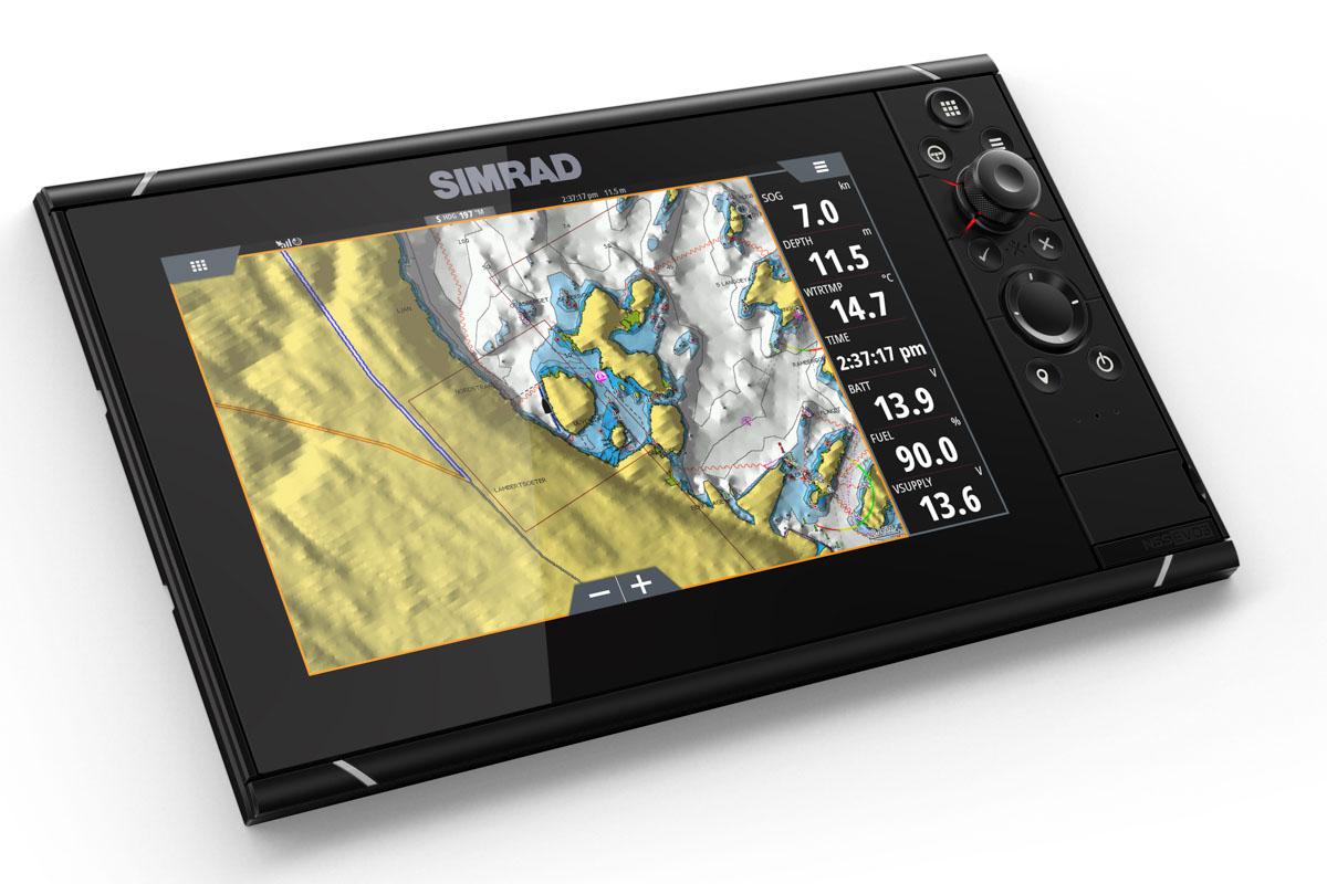 Die Simrad-Produktreihe NSS Evo3 richtet sich an Profis, zum Beispiel Fischer oder Bergungsunternehmen