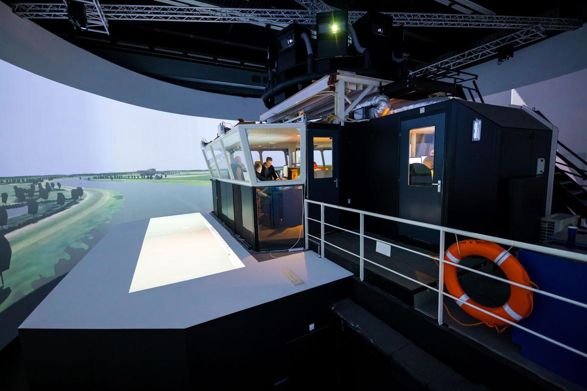 Virtuelle Emspassage im niederländischen Wageningen