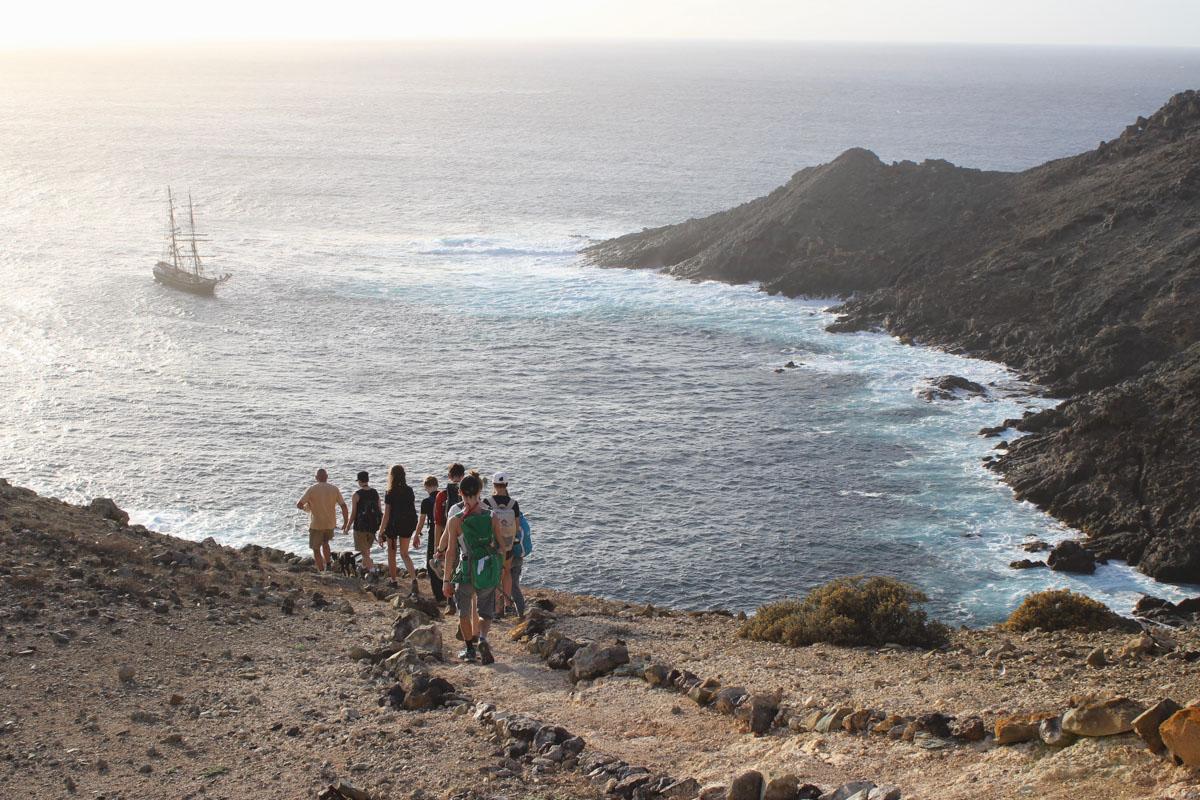 Besuch auf den unbewohnten Inseln Ilha Salvagens bei Madeira