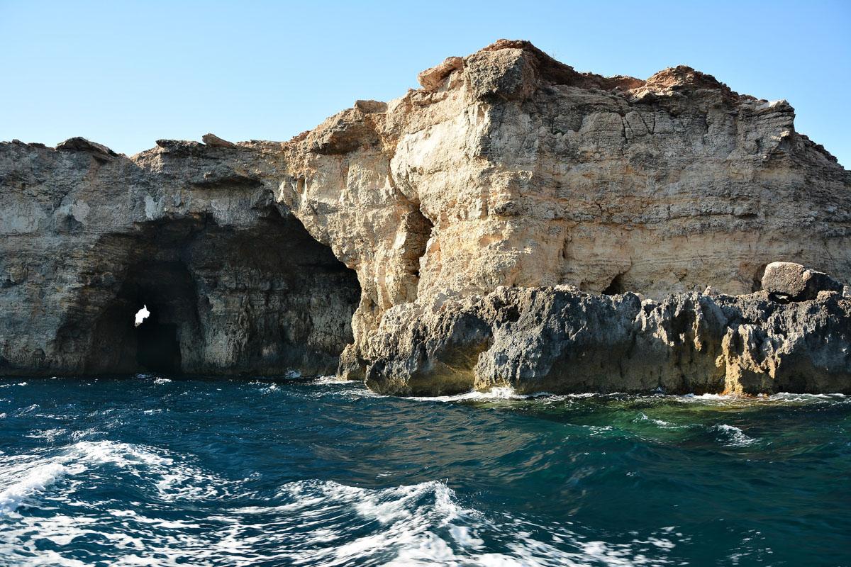 Felsformation auf dem Maltesischen Archipel