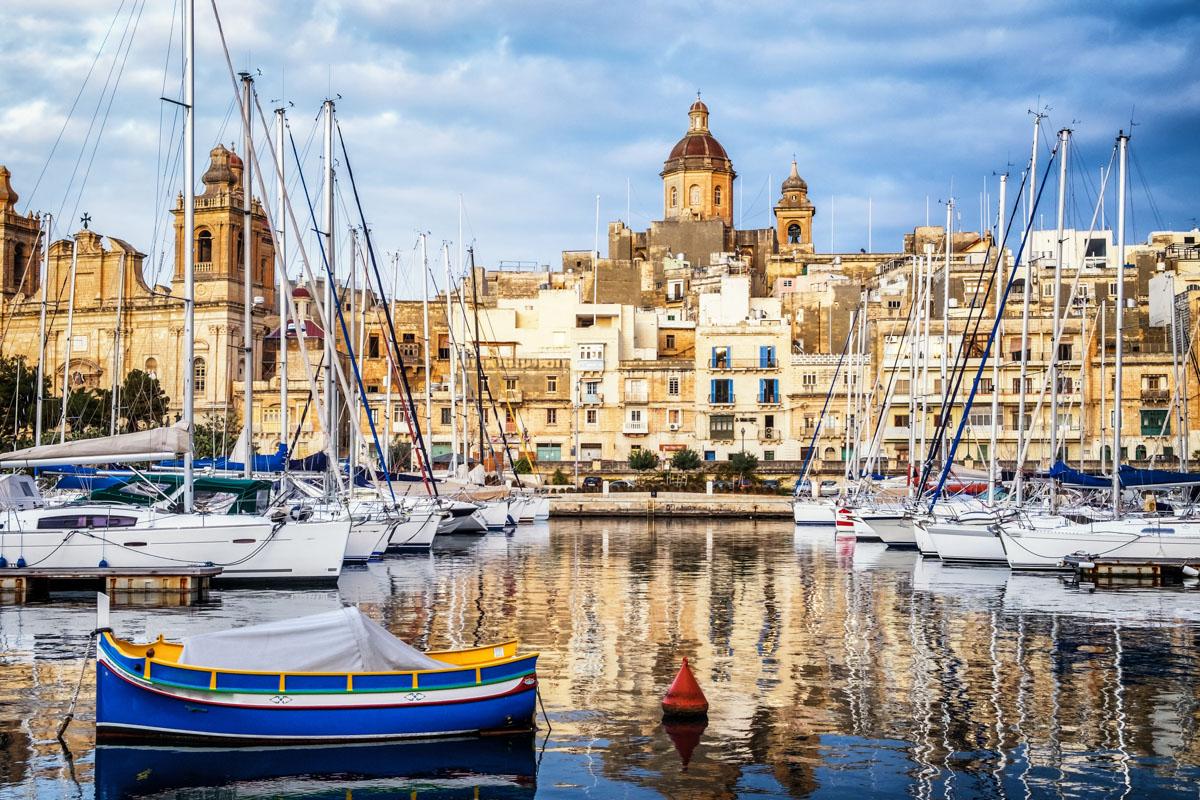 Altstadt von Valletta/Malta