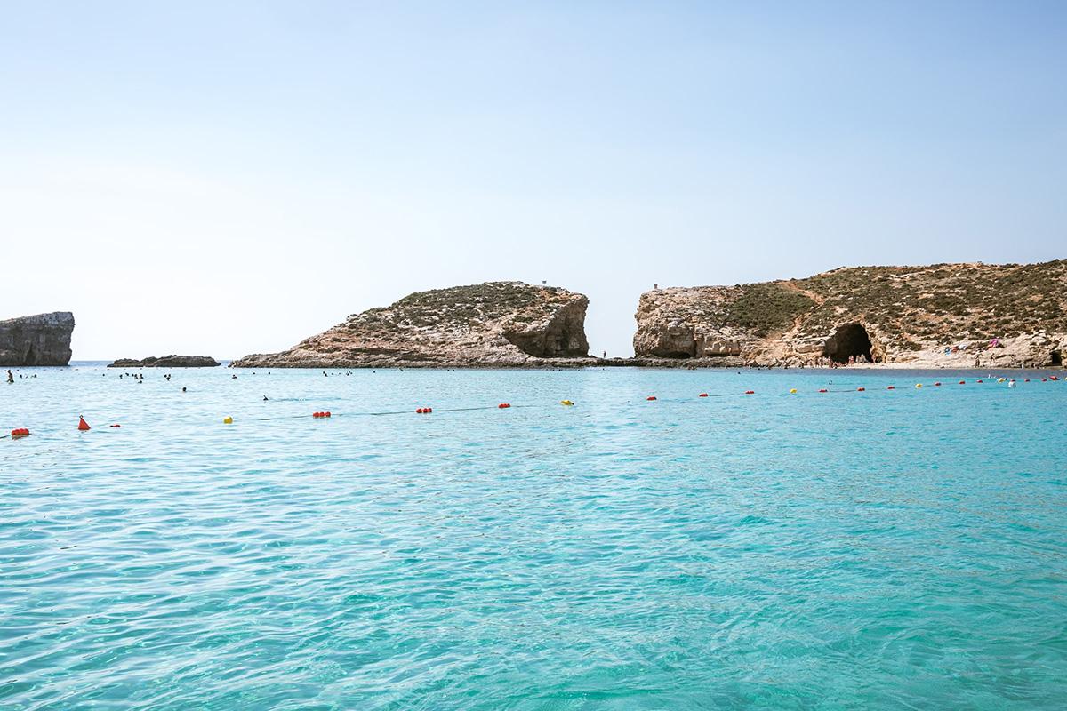 Blaue Lagune auf Comino
