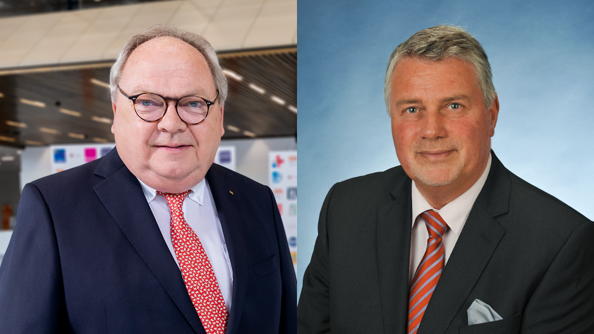 Werner Dornscheidt und Jürgen Tracht
