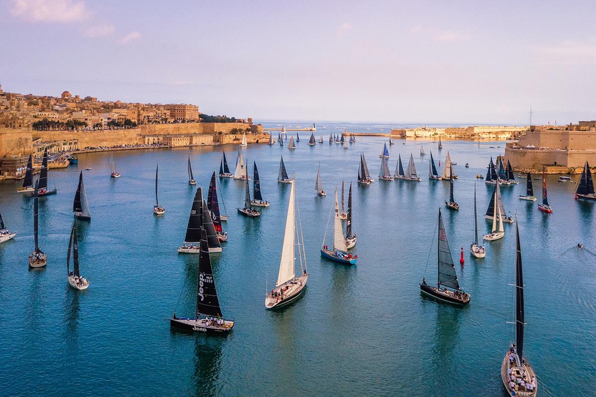Regatta im Grand Harbour