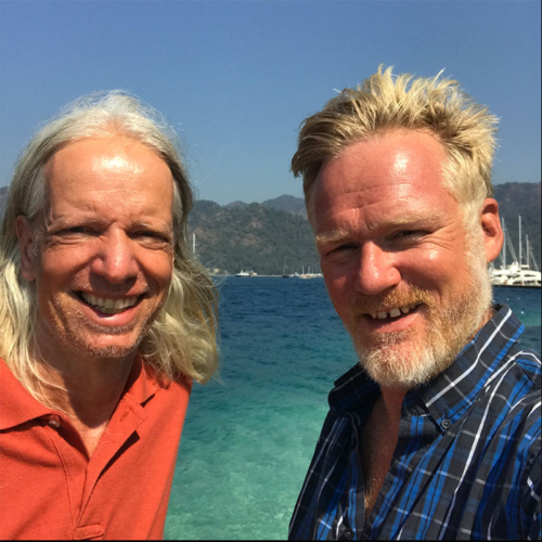 Sebastian Kummer und Jens Brambusch