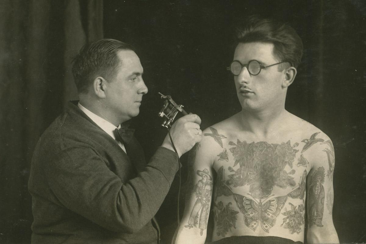 tattoos auf see gestochen
