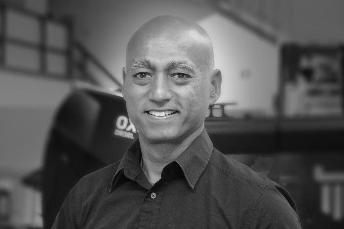 Myron Mahendra ist der CEO von Oxe Marine
