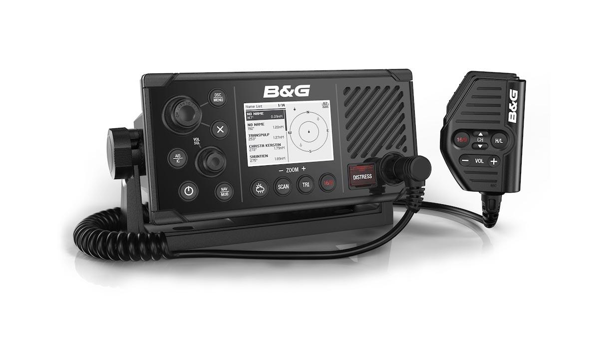 Das neue V60-B von B&G kombiniert Funksprechgerät mit AIS-Transceiver © B&G