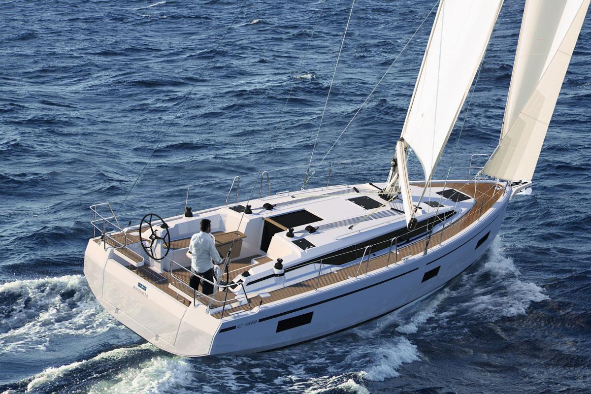 Die neue Bavaria C38 ist die kleinste Yacht der C-Linie