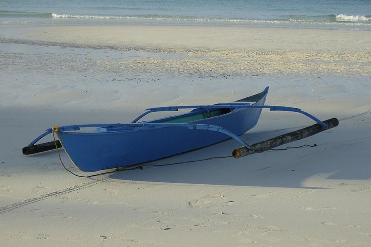 Bangka heißt das traditionelle Auslegerboot der Philippinen