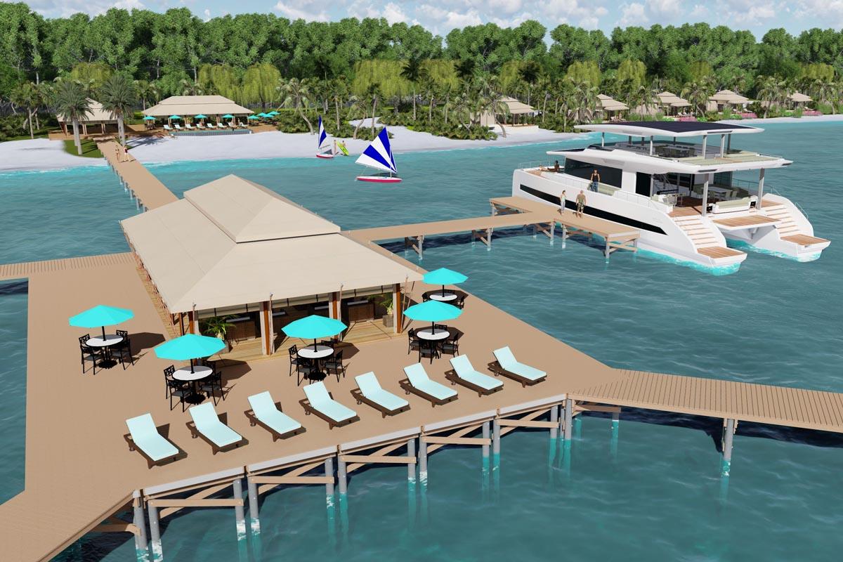 Silent Resorts ist ein schwimmendes Luxushotel, als Suiten dienen die Solarkatamarane von Silent Yachts