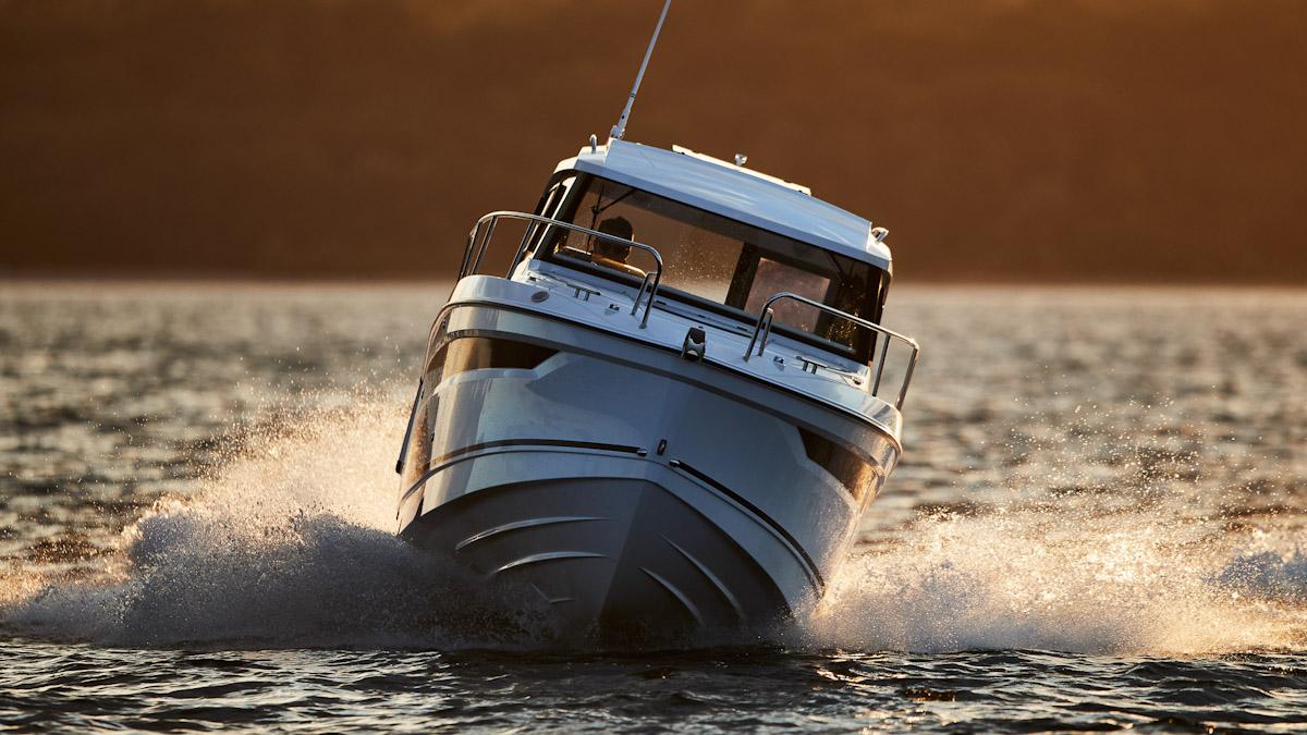 Die Parker 760 Quest ist eine Kombination aus Angelboot und Familienyacht © Werft