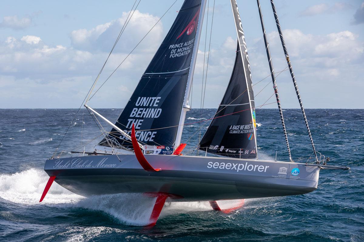 Boris Herrmann/Seaexplorer-YC de Monaco