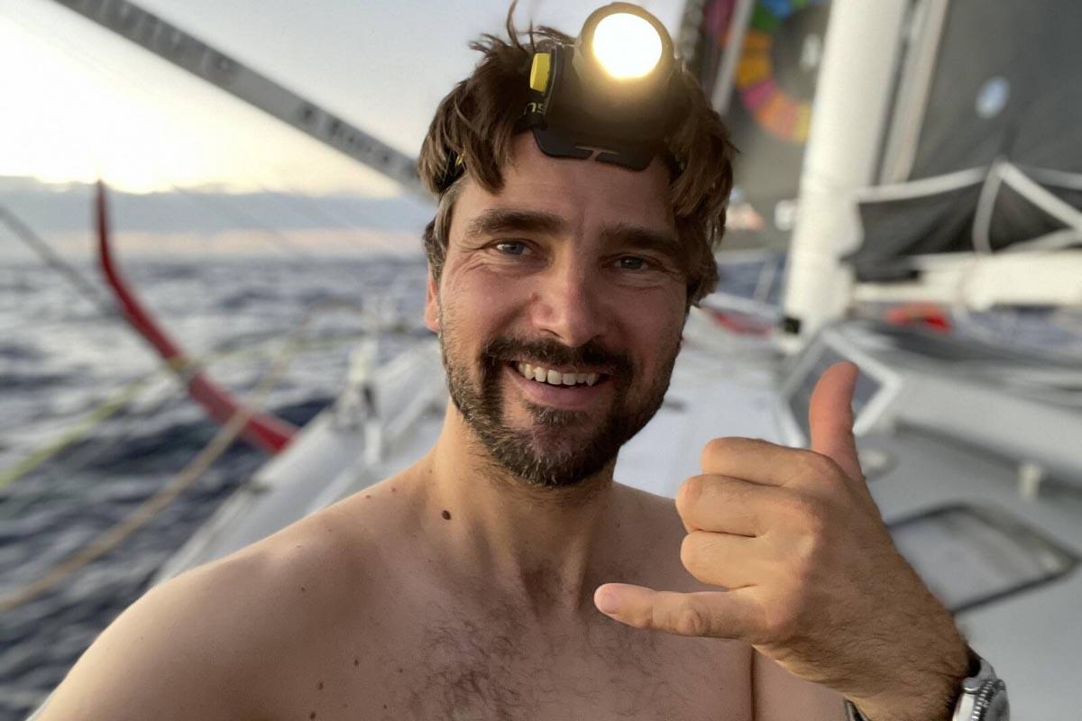 Vendée Globe 2020: Boris Herrmann auf dem Weg zum Äquator © Boris Herrmann