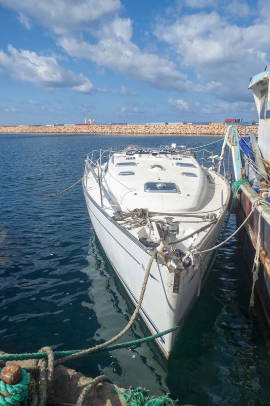 Wilson Street in Libyen