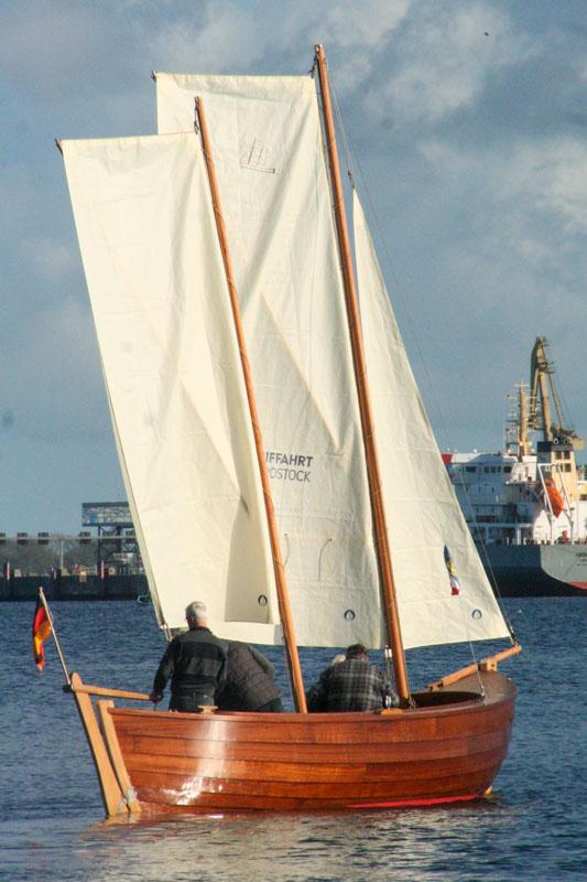 Warnemünder Jolle vom Schifffahrtsmuseum Rostock