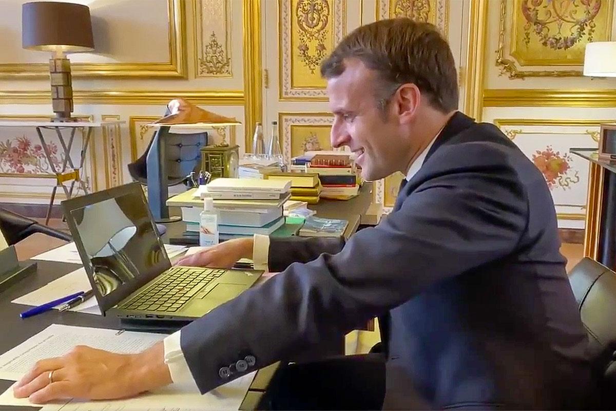 Vendee Globe Macron