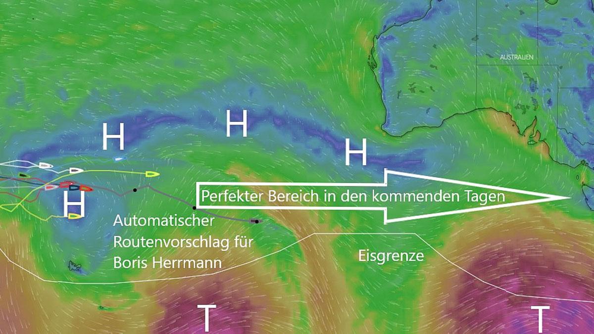 Wetter Vendée Globe