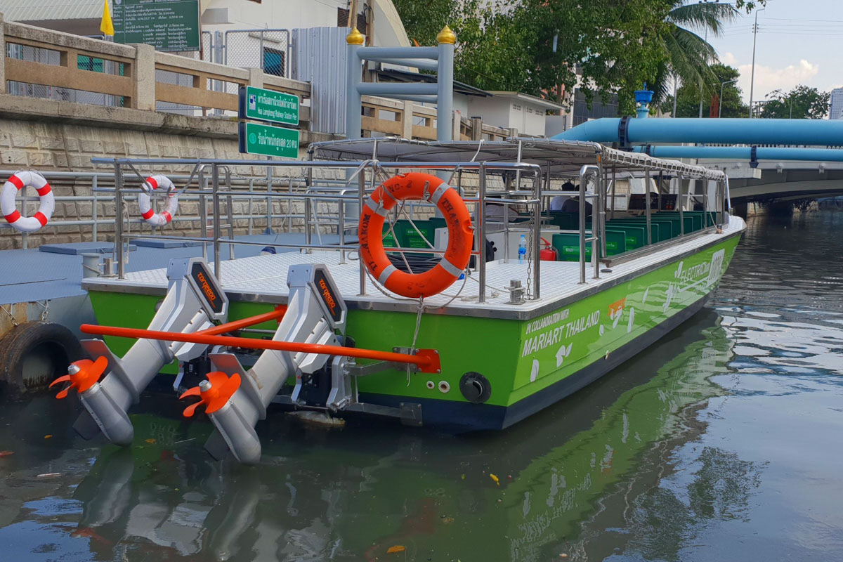 Elektrische Flotte Bangkok