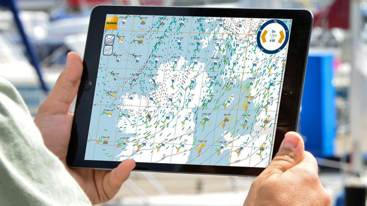 Seaman-App Wetterwelt