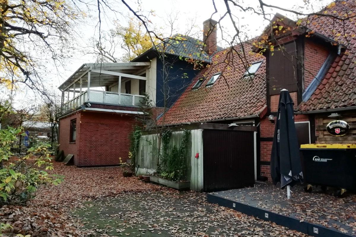 Das Anwesen der Familie H. in Schwarmstedt