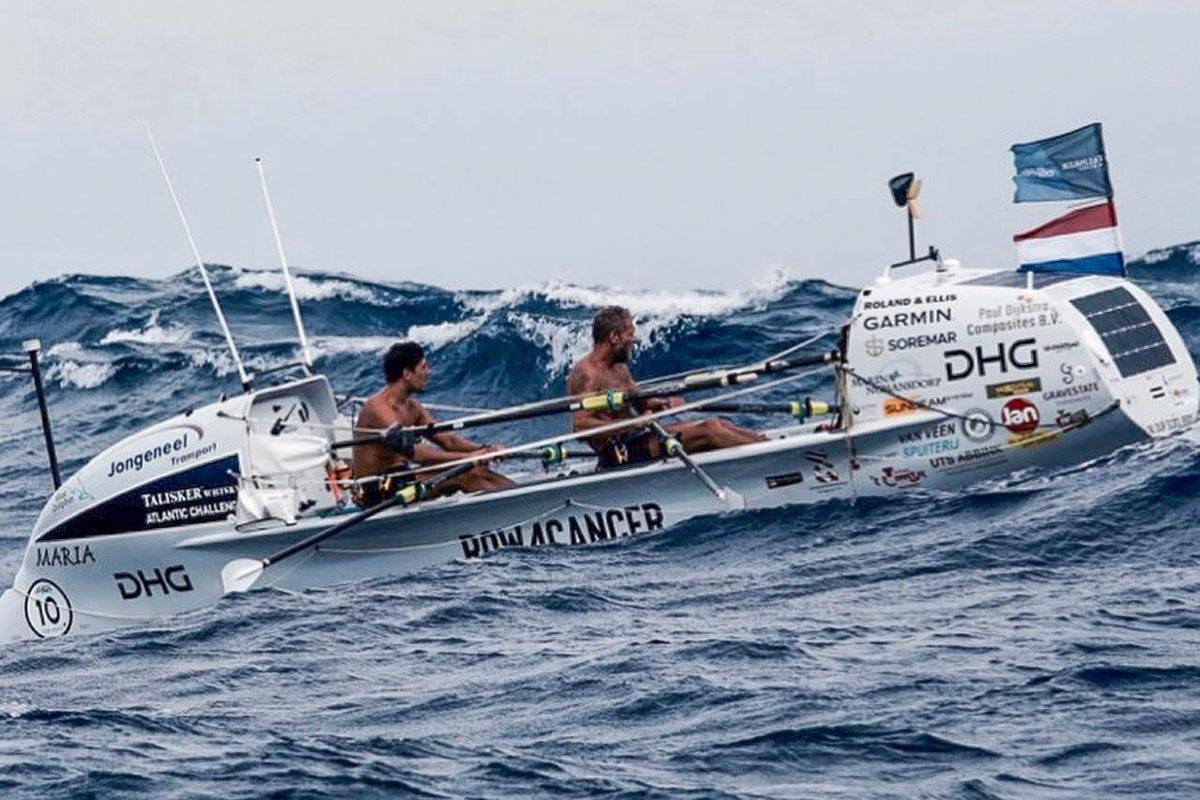 In Weltrekordzeit über den Atlantik