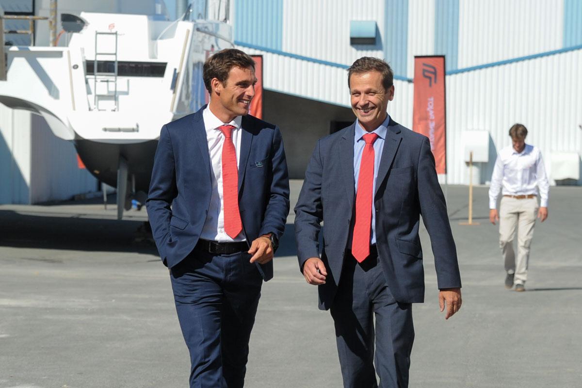 Romain Motteau und Nicolas Gardies
