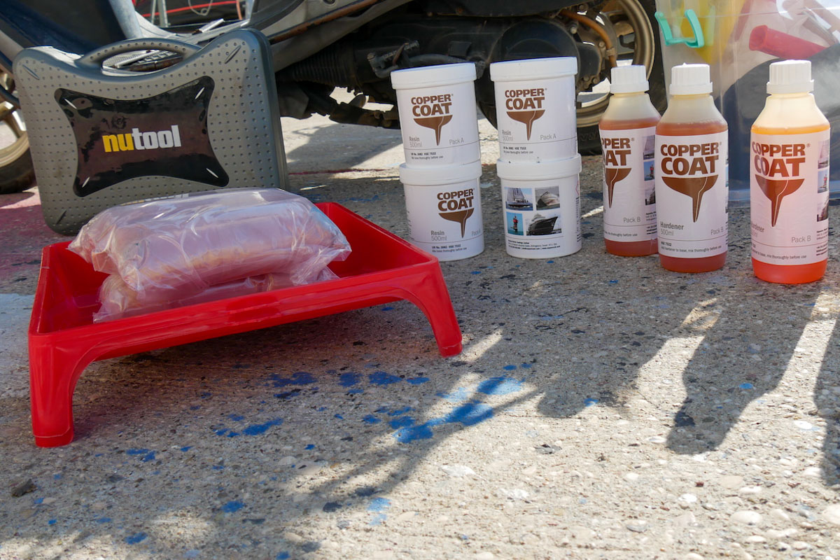 Coppercoat statt Antifouling