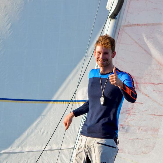 Lennart Burke trainiert wieder