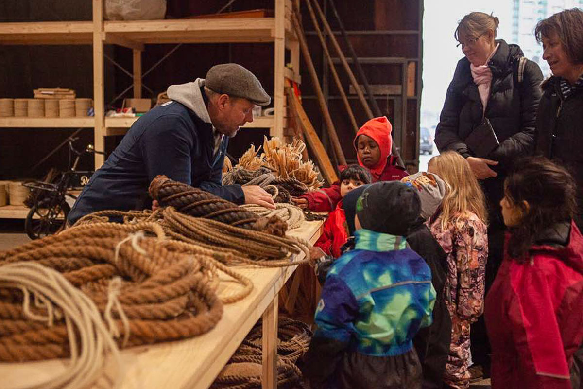 Das Projekt engagiert sich für Bootshandwerk