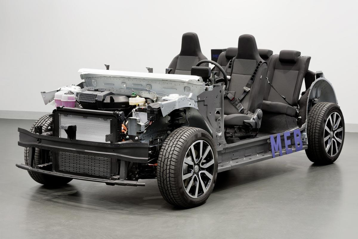 Der modulare E-Antriebs-Baukasten von VW