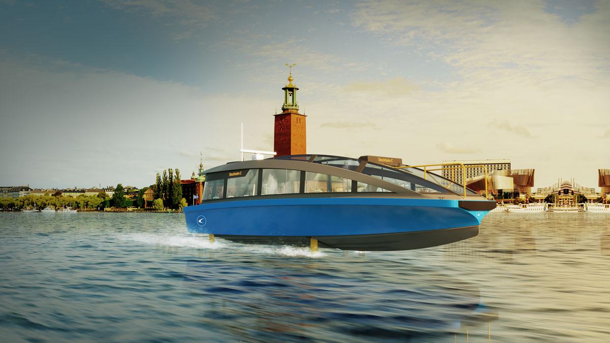 Die Candela P-30 wird in Stockholm den öffentlichen Nahverkehr erneuern © Werft