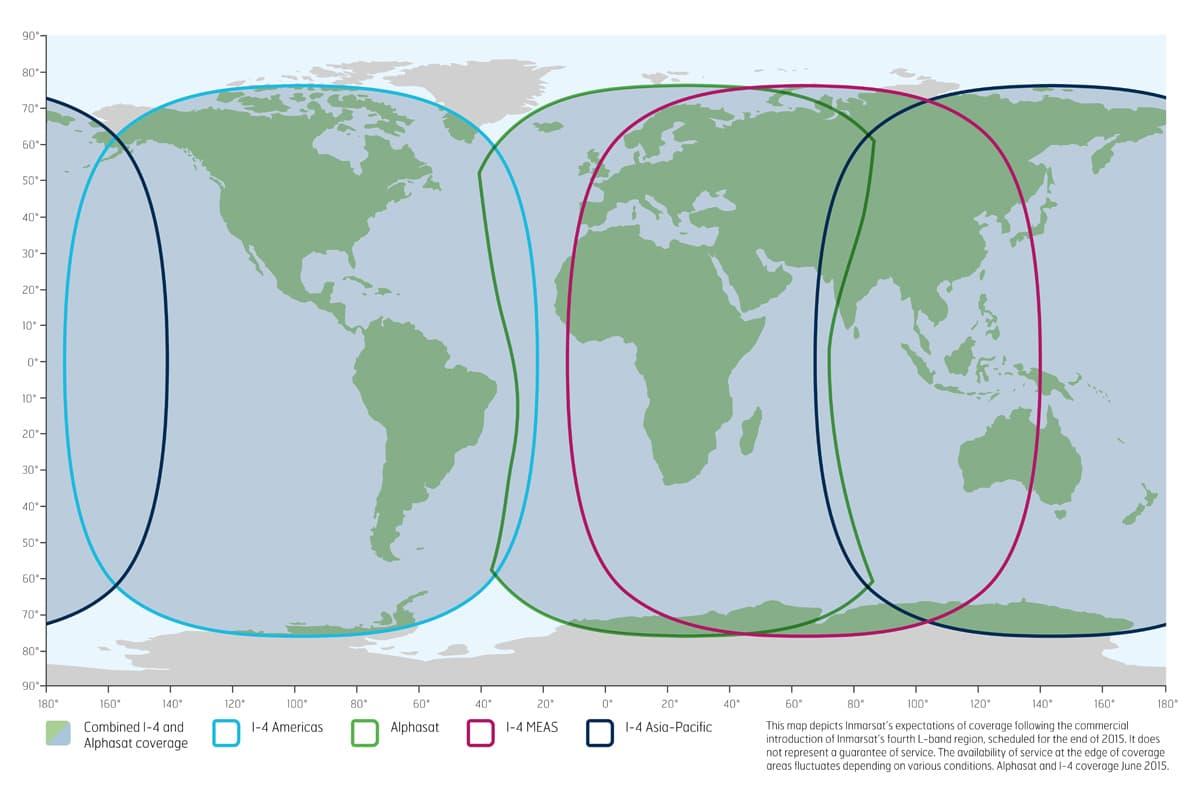 Inmarsat ist das älteste Netz für Satelliten-Kommunikation