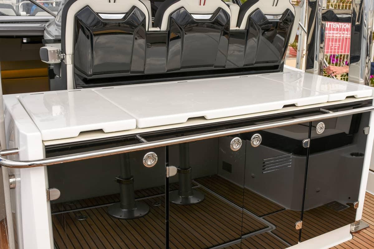 Die open-air Bordküche